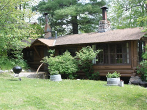 Cabin Exterior at Muskego Point Resort
