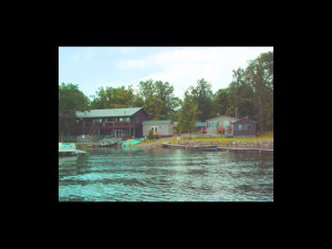 Exterior view of Whaley's Resort & Campground.