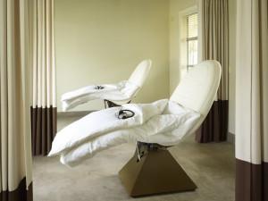 Spa treatment at Solage Calistoga.