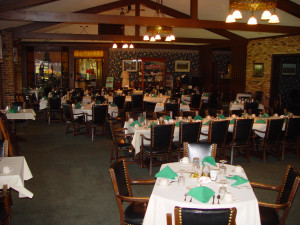 Dining room at Lakewood Shores Resort.