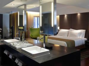 Spa suite at Hotel Miramar.