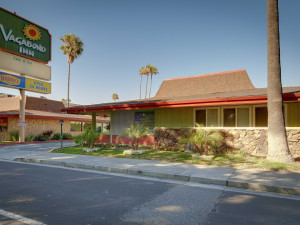 Exterior view of Vagabond Inn San Jose.