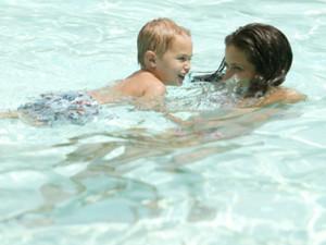 Swimming Pool Fun at  Beach Quarters Resort
