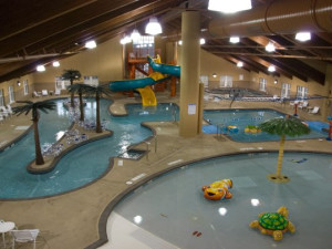 Waterpark at Honey Creek Resort.