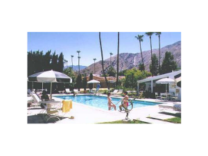 Outdoor pool at San Marino Hotel.
