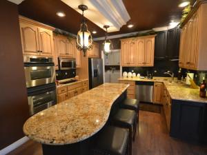 Rental kitchen at Stonebridge Resort.