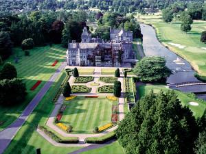 Aerial View of Adare Manor Limerick