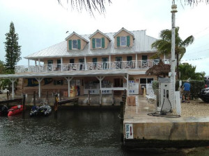 Exterior view of Big Pine Key Fishing Lodge.