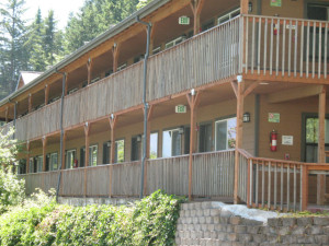 Exterior lodging view at Carson Hot Springs Spa.