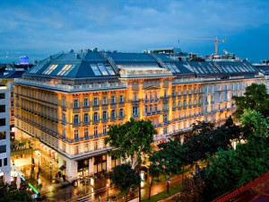Exterior view of Ana Grand Hotel Wien.