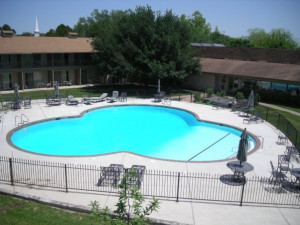 Outdoor pool at Mill Creek Inn & Golf Club.