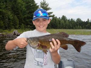 Fishing at Northern Outdoors.