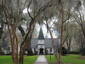 Christ Church near The King and Prince Beach.