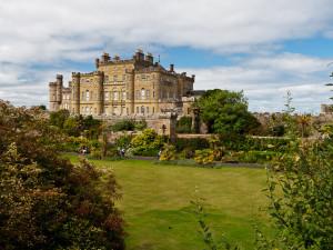 Exterior view of Culzean Castle.