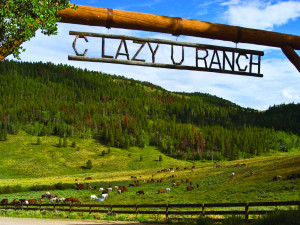Welcome to C Lazy U Ranch.