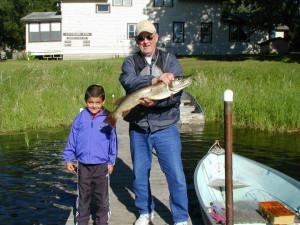 Fishing at Anchor Inn Resort.