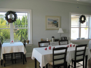Dining at The Sunset Inn.