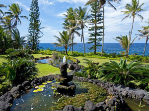 Vacation rental view at Big Island Vacation Rentals.