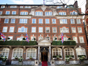 Exterior view of Goring Hotel.