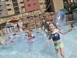 Kids in pool at Chula Vista Resort.