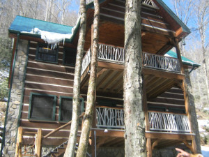 Cabin at Cherokee Mountain Cabins