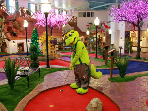 Mini golf at Bavarian Inn of Frankenmuth.