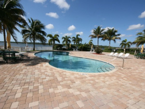 Outdoor pool at Boca Ciega Resort.