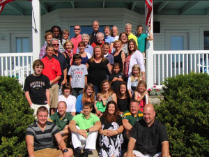 Family reunion at Edgewater Resort.