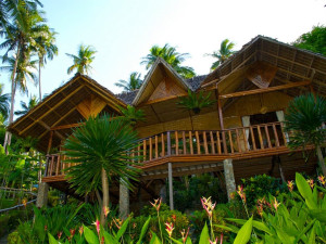 Exterior view of Coco Beach Island Resort.