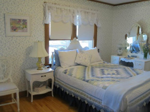Guest room at Lilac Village Bed & Breakfast.