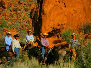 Horseback riding near Redstone Inn.