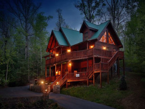 Rental exterior at Smoky Mountain Resort Lodging and Conference Center.