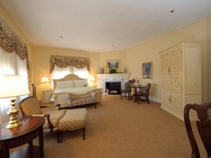 Guest room at Cranwell Resort.