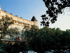 Exterior view of Hotel Ritz in Madrid.