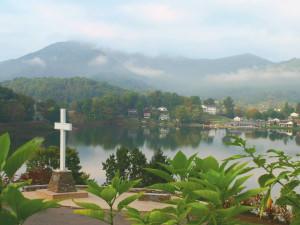 View from Lambuth Inn at Lake Junaluska Conference & Retreat Center.