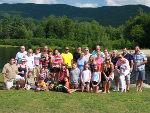 Family reunions at Waterville Valley Resort.