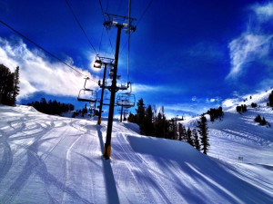 Ski lift at Mammoth Property Reservations.