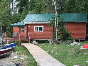 Cabin at Pipestone Lodge.