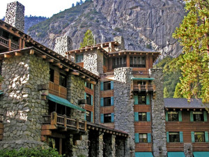 Exterior view of Yosemite Lodge at the Falls.
