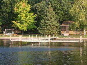 Cabins at Samara Point Resort.