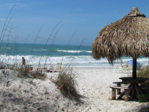 The beach at Anna Maria Island Inn.