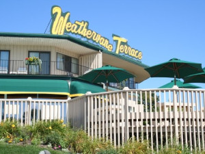 Exterior view of Weathervane Terrace Inn and Suites.