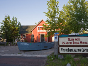 Fishing Museum near Surfside on Lake Superior.