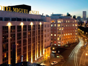 Exterior view of Occidental Miguel Angel Hotel.