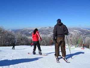 Skiing at Sugar Ski and Country Club.