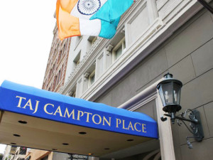 Exterior view of Campton Place Hotel.