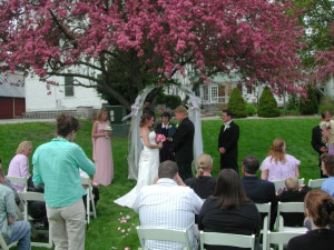 Weddings celebrated at Fullerton Inn.