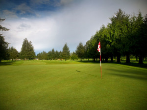Alderbrook Golf Course at The Garibaldi House Inn.