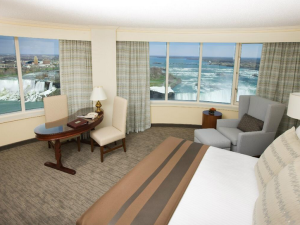 Guest Room at the Niagara Fallsview Casino Resort