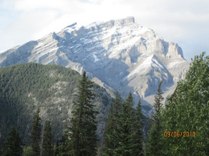 Beautiful mountain views at Banff Caribou Lodge